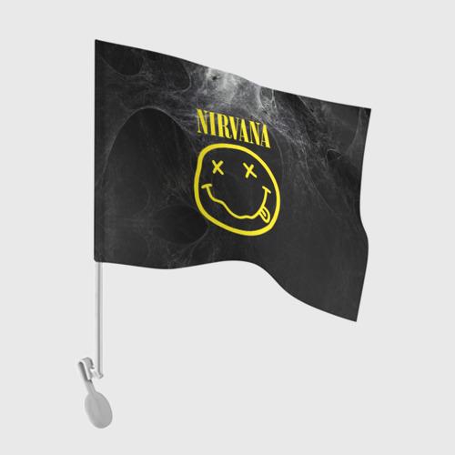 Флаг для автомобиля Nirvana Фото 01