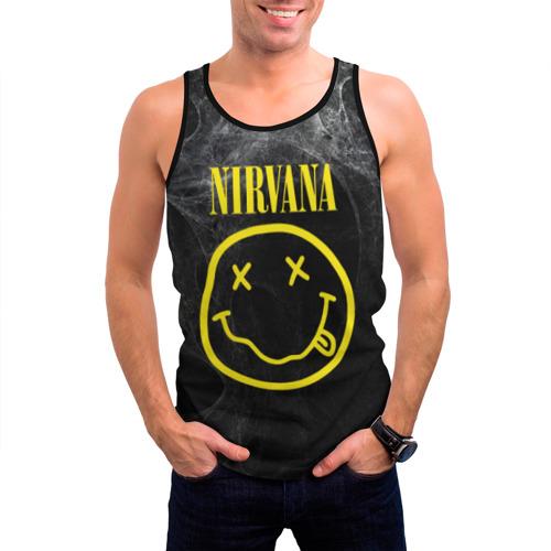 Мужская майка 3D Nirvana Фото 01