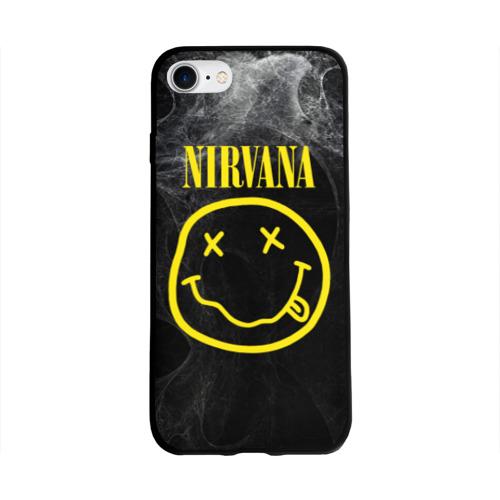 Чехол для Apple iPhone 8 силиконовый глянцевый Nirvana Фото 01