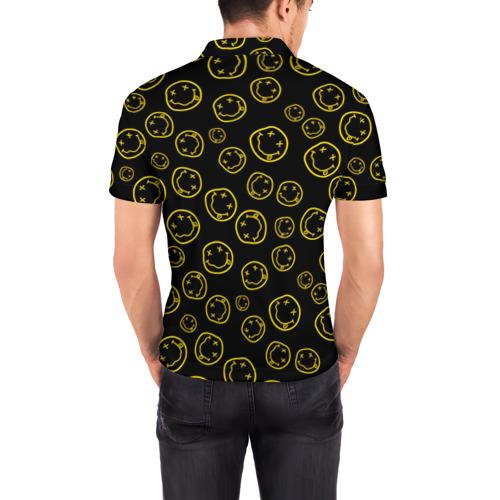 Мужская рубашка поло 3D  Фото 04, Nirvana