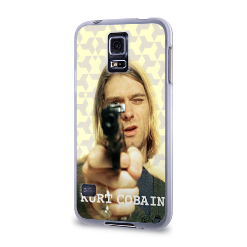 Чехол для Samsung Galaxy S5 силиконовый  Фото 03, Nirvana