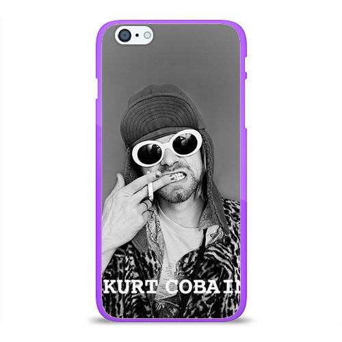 """Чехол силиконовый глянцевый для Apple iPhone 6 Plus """"Nirvana"""" (3) - 1"""