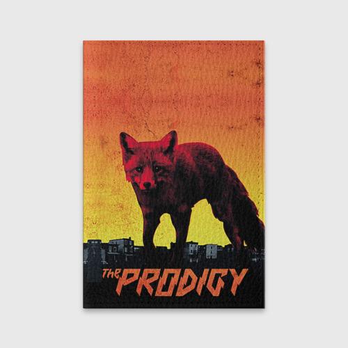 Обложка для паспорта матовая кожа The Prodigy