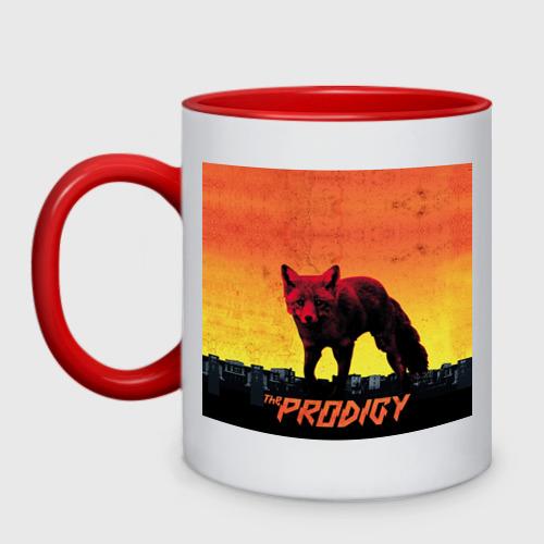 Кружка двухцветная  Фото 01, The Prodigy