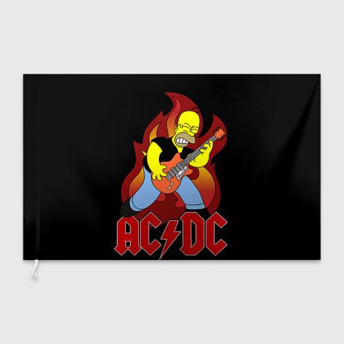 Флаг 3D  Фото 03, AC/DC