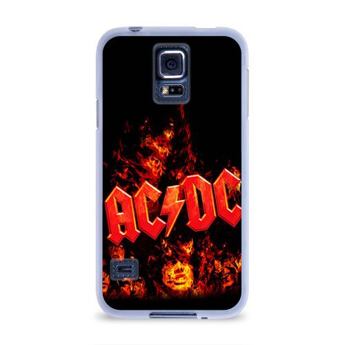 Чехол для Samsung Galaxy S5 силиконовый AC/DC