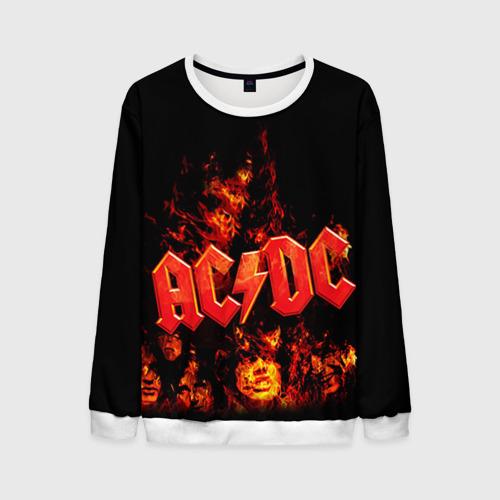 """Мужской свитшот 3D с полной запечаткой """"AC/DC"""" - 1"""
