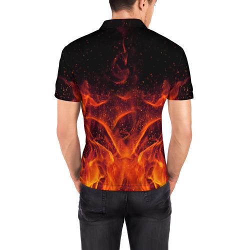 Мужская рубашка поло 3D  Фото 04, AC/DC