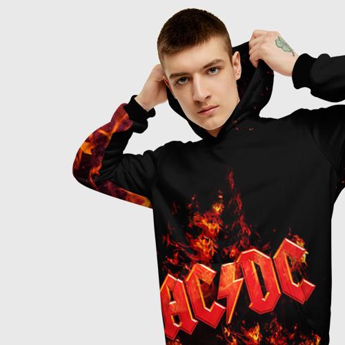 Мужская толстовка 3D AC/DC