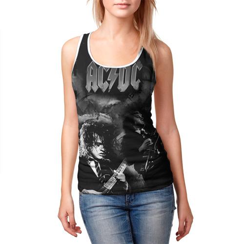 Женская майка 3D  Фото 03, AC/DC