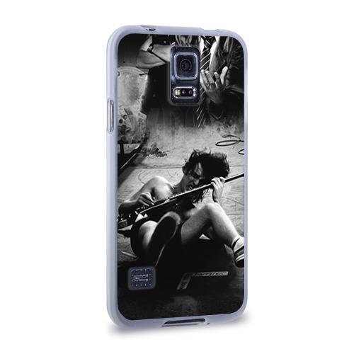 Чехол для Samsung Galaxy S5 силиконовый  Фото 02, AC/DC