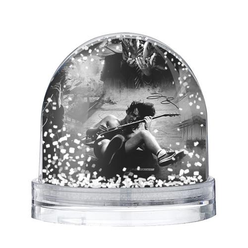Водяной шар со снегом AC/DC