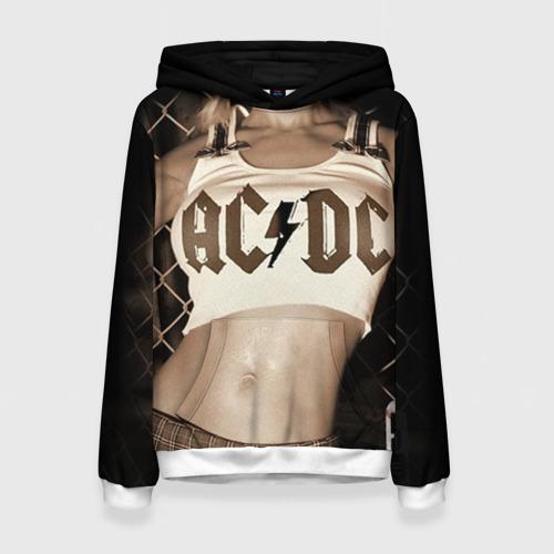 Женская толстовка 3D AC/DC от Всемайки
