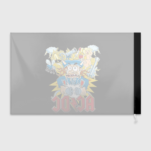 Флаг 3D  Фото 02, AC/DC