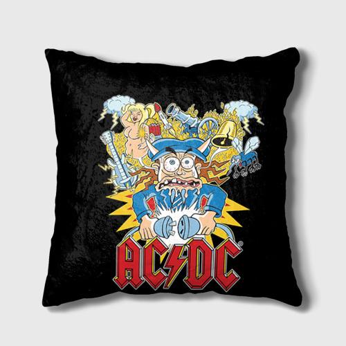 Подушка 3D AC/DC от Всемайки