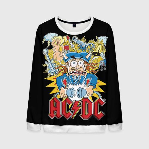 Мужской свитшот 3D AC/DC от Всемайки