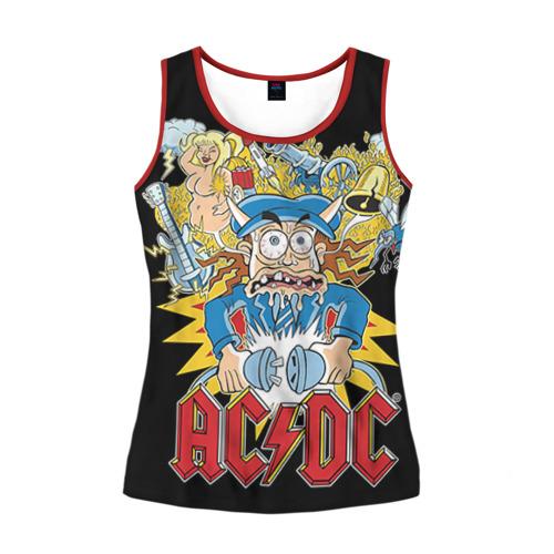 Женская майка 3D AC/DC