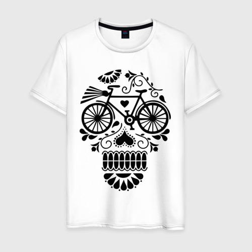 Мужская футболка хлопок Велочереп