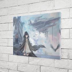 Девушка на небесном корабле