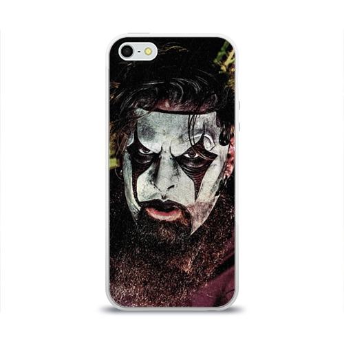 Чехол для Apple iPhone 5/5S силиконовый глянцевый  Фото 01, Slipknot
