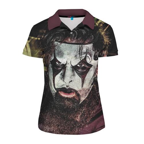 Женская рубашка поло 3D Slipknot