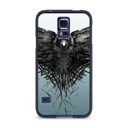 Чехол для Samsung Galaxy S5 силиконовыйВорон