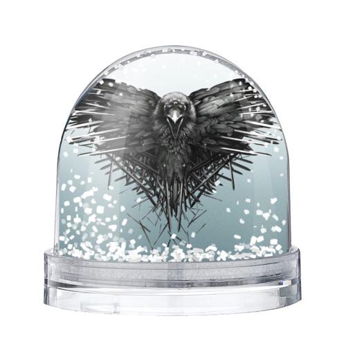 Водяной шар со снегом Ворон