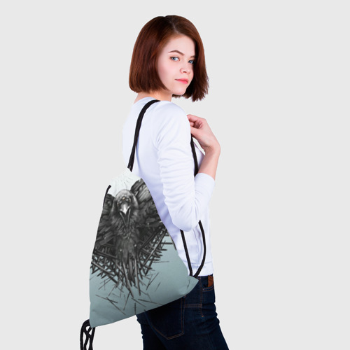 Рюкзак-мешок 3D  Фото 02, Ворон