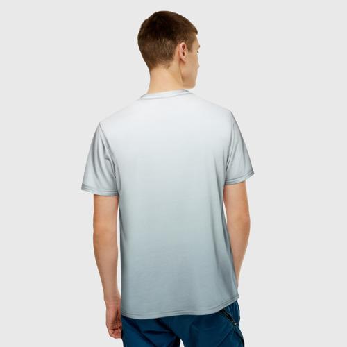 Мужская футболка 3D Ворон