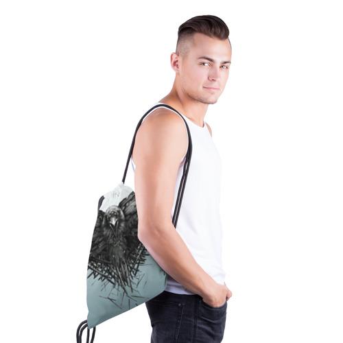 Рюкзак-мешок 3D  Фото 03, Ворон