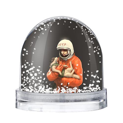 Водяной шар со снегом Гагарин