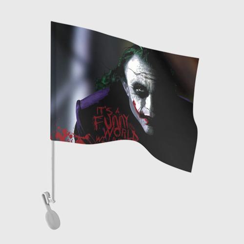 Флаг для автомобиля Джокер