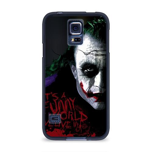 Чехол для Samsung Galaxy S5 силиконовый Джокер