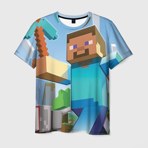 Мужская футболка 3D Майнкрафт от Всемайки