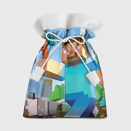 Подарочный 3D мешок Майнкрафт