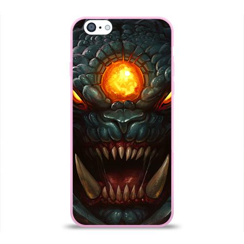 """Чехол силиконовый глянцевый для Apple iPhone 6 """"Рошан"""" - 1"""