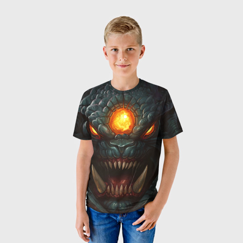 Детская футболка 3D Рошан