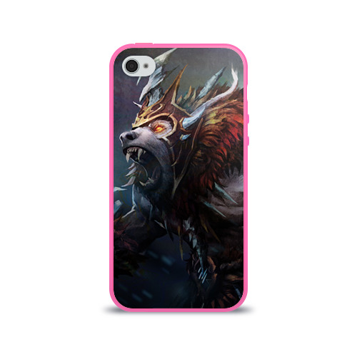 Чехол для Apple iPhone 4/4S силиконовый глянцевый Урса