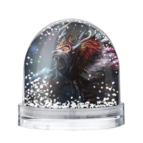 Водяной шар со снегом Урса