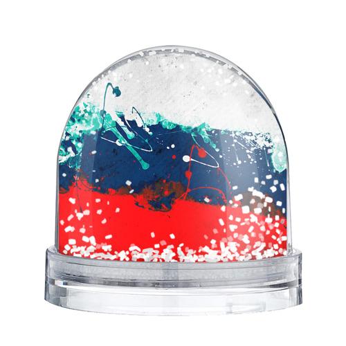 Водяной шар со снегом  Фото 02, Флаг