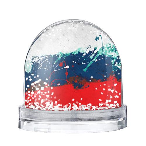 Водяной шар со снегом Флаг