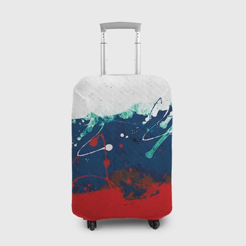 Чехол для чемодана 3D Флаг
