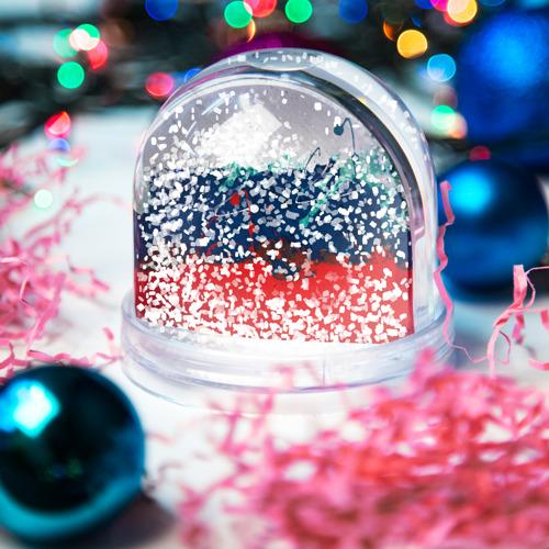 Водяной шар со снегом  Фото 04, Флаг