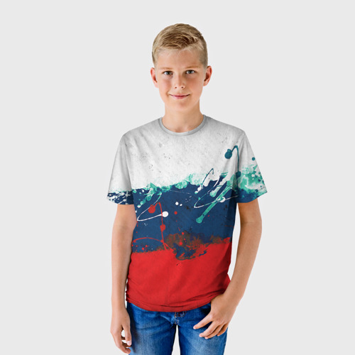 Детская футболка 3D  Фото 01, Флаг