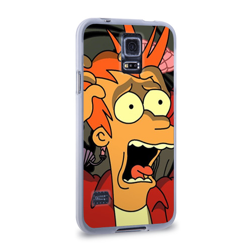 Чехол для Samsung Galaxy S5 силиконовый  Фото 02, Фрай
