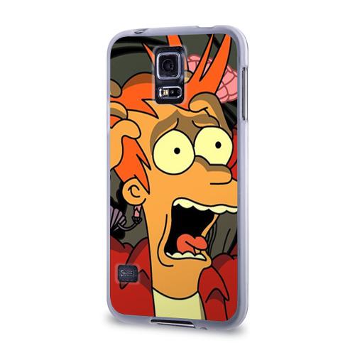 Чехол для Samsung Galaxy S5 силиконовый  Фото 03, Фрай