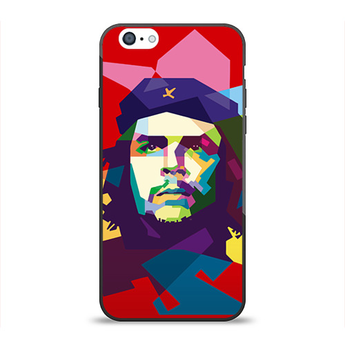 Чехол для Apple iPhone 6 силиконовый глянцевый Че Гевара от Всемайки