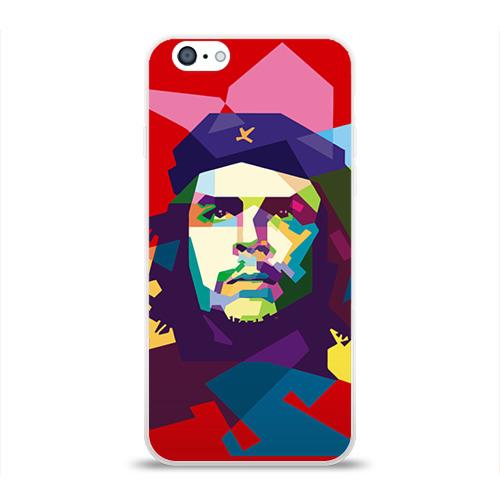 """Чехол силиконовый глянцевый для Apple iPhone 6 """"Че Гевара"""" - 1"""