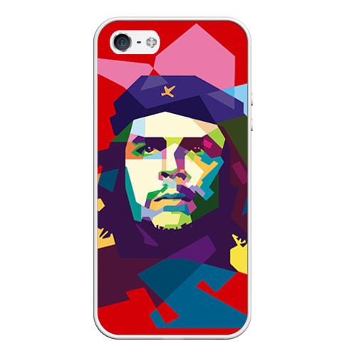 Чехол для Apple iPhone 5/5S силиконовый Че Гевара от Всемайки
