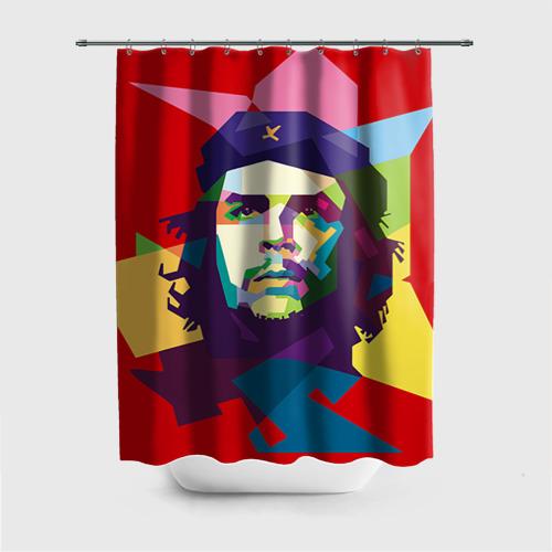 Штора для ванной Че Гевара от Всемайки